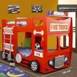 Feuerwehrbett Fire Truck Double